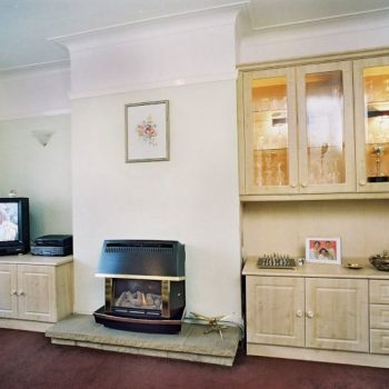 Bespoke living room furniture tv cabinet and display unit