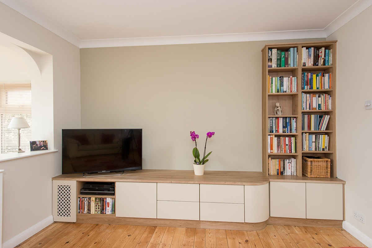 Bespoke Fitted Living Room Furniture  GPM Designs